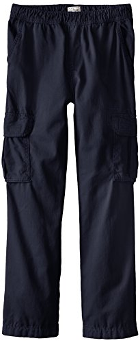 The Children's Place Boys Slim Size His Pull-On Cargo Pants, New Navy, 8