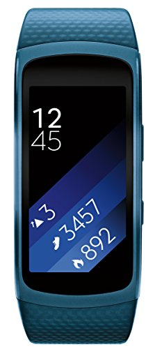 Samsung Gear Fit2- Blue, Medium/Large