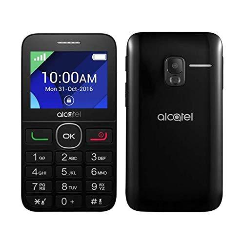 Alcatel 2008d Black Dual Sim Phone for Elderly BIG BUTTON