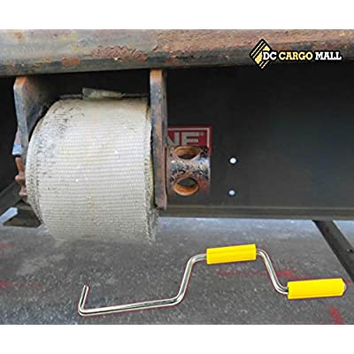DC Cargo Mall Easy Speedy Hand Roller for Winding Up Winch Straps   18