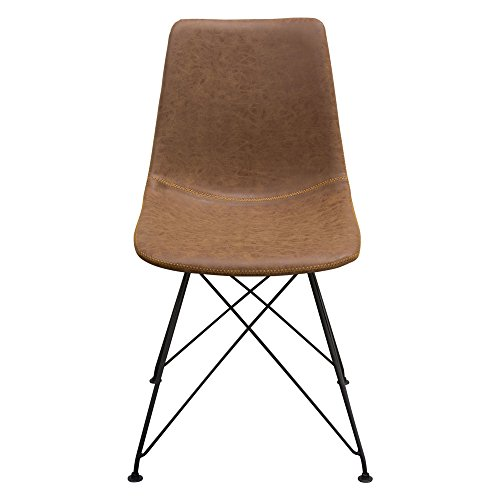 Diamond Sofa Dining Chairs in Coffee - Set of 4