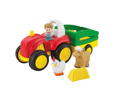 Fisher-Price Little People Tow 'n Pull Tractor (The Tractor People)