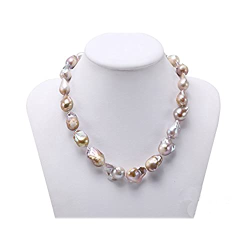 quality genuine item real pearls beads baroque big super freshwater pearl strands strand diy