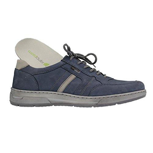 grau 365002 Lacets Waldläufer À 691 Bleu Weite Ville De Jeans Homme H Pour 589 Chaussures axSwq7