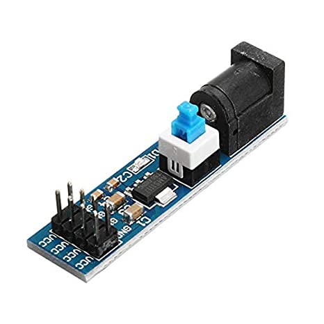 20Pcs AMS1117 5V Power Supply Module With Socket And Switch