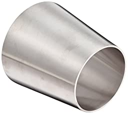 DixonB31W-G400300P Stainless Steel 304 Polished Fitting, Weld Concentric Reducer, 4\