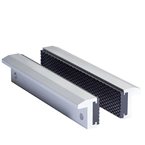 TRISENSE Aluminum Multi-Purpose Vise Jaw Pad, 6