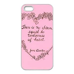 Austen Happy iPhone5s Cell Phone Case White gift pp001_9396591