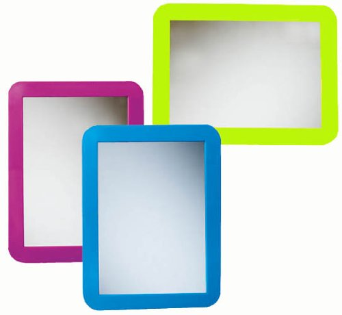 Magnetic Locker Mirrors, package of 18