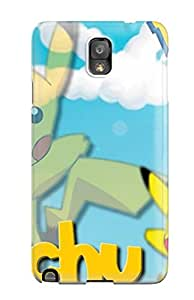 Tpu Case Cover Compatible For Galaxy Note 3/ Hot Case/ Pokemon