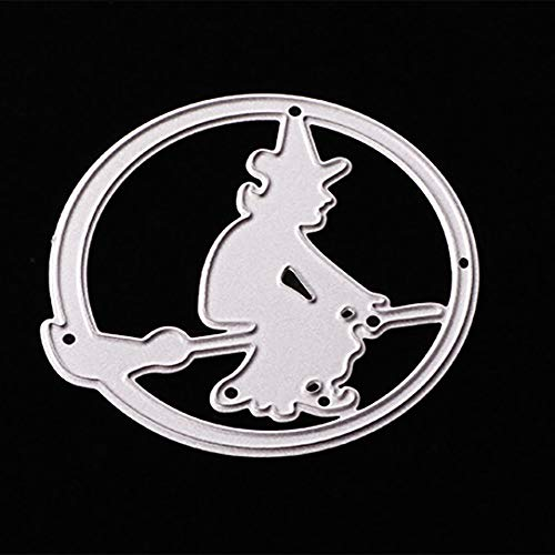 MOKO-PP Happy Halloween Metal Cutting Dies Stencils Scrapbooking Embossing DIY Crafts (F) -