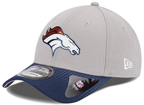 Denver Broncos New Era 39THIRTY 2015 Official Draft Day Flex Fit Hat - Gray