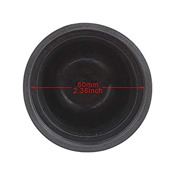 TOMALL 110mm 4.33inch Rubber Seal Dustproof Covers for Car LED Headlight Conversion Kit