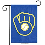 Party Animal Milwaukee Brewers Garden Flag