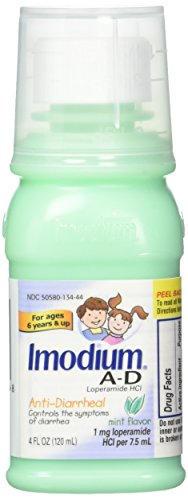 Anti Diarrheal Mint - Imodium A-D Children's Anti-Diarrheal Liquid, Mint, 36 Count