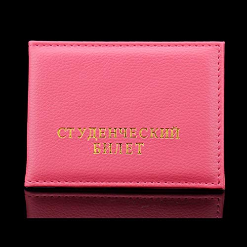 e ID Card Holder for Russian School Document prtotect Cards case hot Leather Cover ()