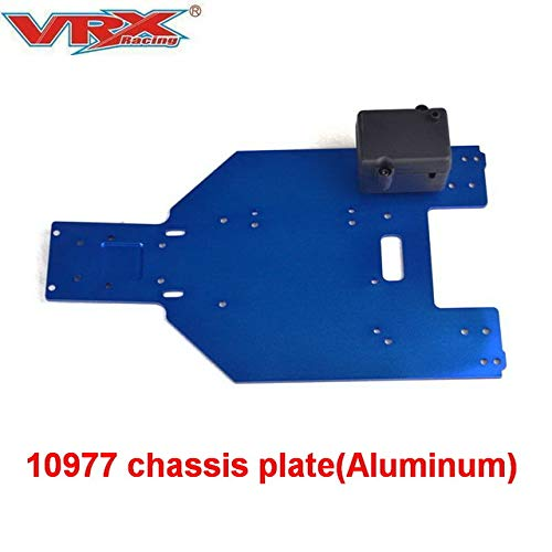 Hockus Accessories 10977 Aluminum Alloy Chassis Plate for VRX Racing RC Car Remote Control Toys Parts,Fit RH1043/1045 Rear Axle Design,Desert Card - (Color: 10977)