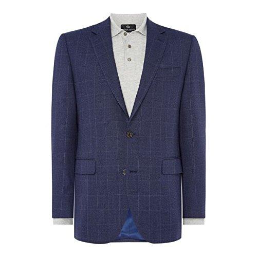 [チェスターバリー] メンズ ジャケット&ブルゾン Check Hopsack Jacket [並行輸入品] B07F35P8K6 40 Regular