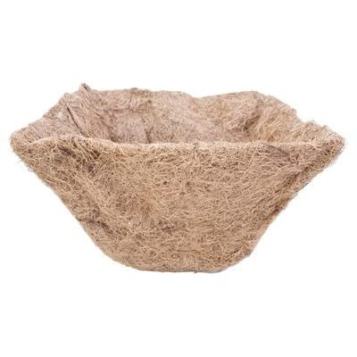 "Panacea Products (5) ea 84168 14"" x 14"" Square Hanging Basket Coco Liners: Garden & Outdoor"