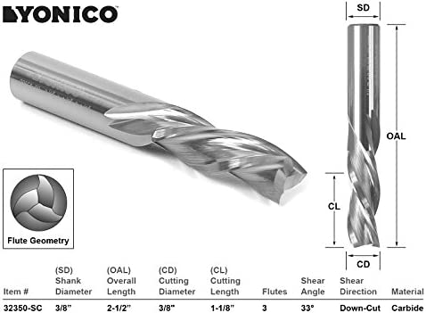 TiAlN Coated 118 Degrees Four-Facet Point Pack of 1 Spiral Flute 6 Length Cobra Carbide 31055 Micro Grain Solid Carbide Jobber Regular Length Drill Bit 23//32 Size Round Shank