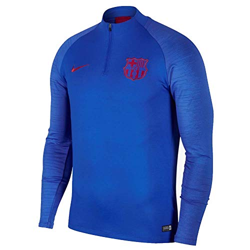Nike 2019-2020 Barcelona Drill Training Top (Blue)