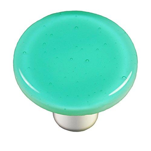 Blue Round Knob - 3