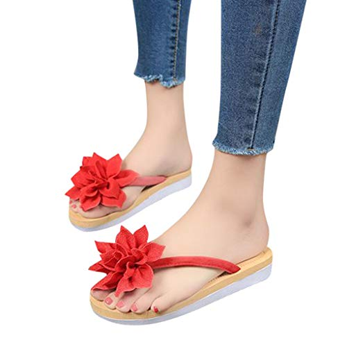 eba557e2eee6c SHOPUS | YEZIJIN Fashion Women Summer Flip Flops Slipper Flower Flat ...