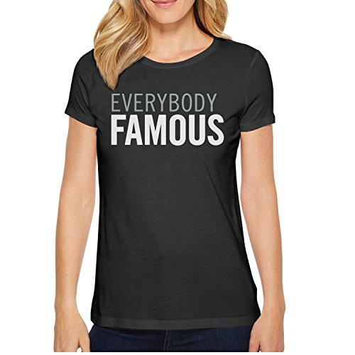 EVERYBODY FAMOUS Vintage T Shirts For Women's O-Neck Short Sleeve Cotton Young Women Tee Shirt
