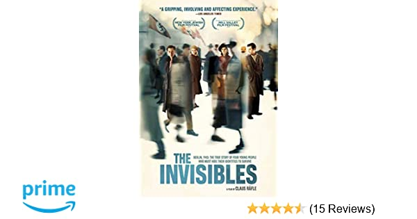 Amazon.com: The Invisibles: Claus Räfle, Alice Dwyer, Ruby O ...