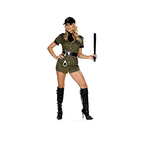 [BW918 (M/L) Ms. Mary Jane Narc Costume By Be Wicked] (Baseball Player Costumes Women)
