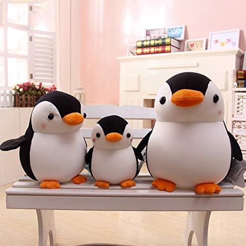Knuffel Animated Knuffeldier Penguin Knuffel, Knuffel Pluche Groot Knuffelkussen, Home Decor Pluche Pop, Voor Kinderen Volwassenen Kerst Verjaardagscadeau, 20-35Cm,Gray,35cm