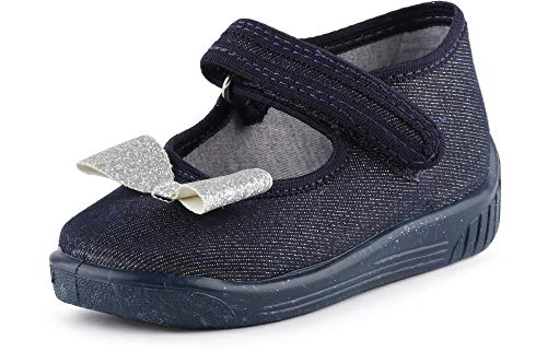 Pantofole Broccato Bambina Nero Ladeheid Larw004 Ballerine arco 6yYbf7gv