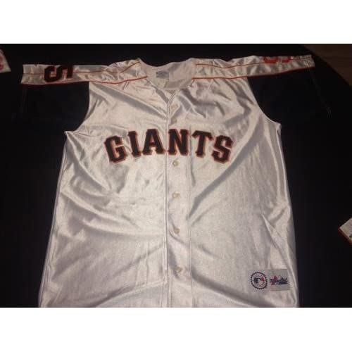 c192f44dc Signed Barry Bonds Jersey - Cert - PSA DNA Certified - Autographed MLB  Jerseys high