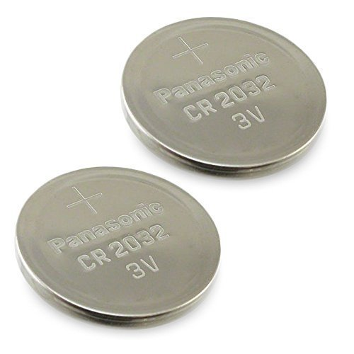 Price comparison product image (2pcs) PANASONIC Cr2032 3v Lithium Coin Cell Battery for Misfit Shine Sh0az Personal Physical Activity Monitor
