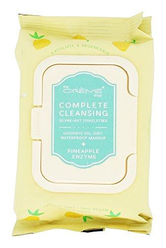The Crème Shop - Pineapple Enzyme 30 Pre-Wet Towelettes