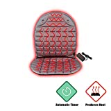 VVaygWay 12V Heated Car Seat Cushion-Car Auto Seat Heater Warmer-...