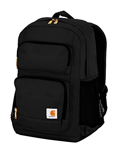 Carhartt Legacy Standard Work Backpack with Padded Laptop Sleeve and Tablet Storage, Black by Carhartt