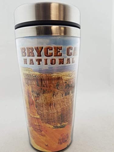 (Bryce Canyon National Park Souvenir State Stainless Steel Spill Resistant 16-Ounce Travel Tumbler with Wrap (Utah - Bryce Canyon National Park))