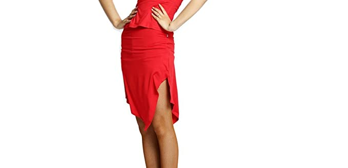 69f6c4f6f175 Amazon.com: Motony Women Latin Dance Skirt New Style Adult Latin Dance Dress  Summer Dance Practice Costume: Clothing