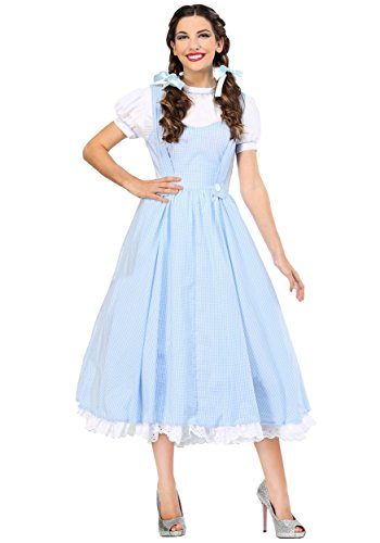Kansas Girl Deluxe Women's Costume Large Blue