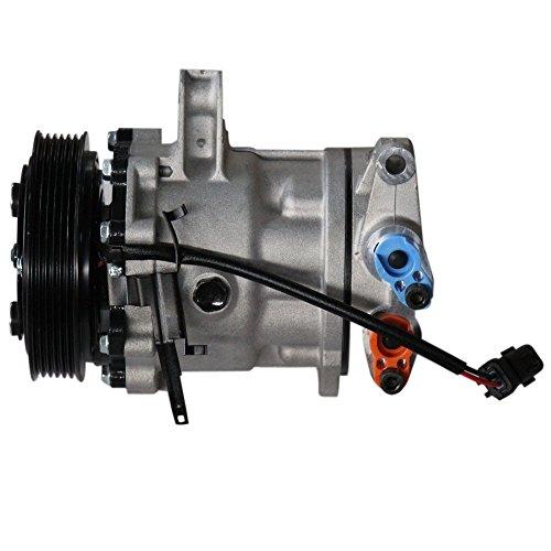 A/C Compressor & Clutch Fits 02-05 Jeep Liberty V6 3.7L 55037466AE Jeep A/c Compressor