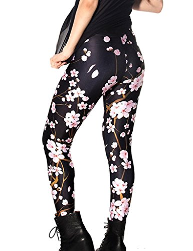 Lelinta 3-5 Days Delivery Womens Hot Sale Galaxy Star Printed High Waist Leggings - Delivery Priority Time Usps