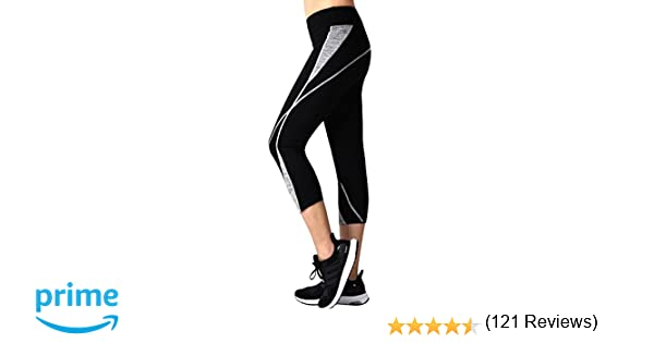 Amazon.com: Neonysweets Womens Capri Workout Pants Yoga ...