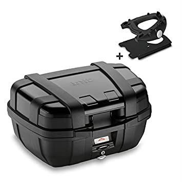 Top Case Set Honda X-ADV 2017 Givi Monokey TRK52B negro