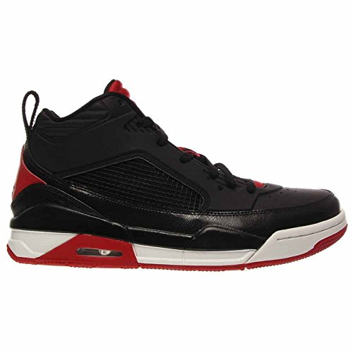 Nike Air Jordan Flight 9.5 Nero Bianco Palestra Rosso Mens Scarpe Da Basket 654262-001 (14)