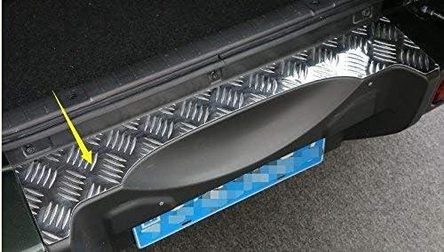 スズキ ジムニー 2007+ 外側のリアバンパーガードプレート Suzuki Jimny カーパーツ ジムニー アクセサリー 亜鉛合金 シルバー