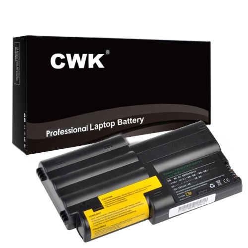 (CWK New Replacement Laptop Notebook Battery for IBM THINKPAD T30 02K7034 02K7072 IBM THINKPAD T30 02K7037 02K7050 IBM ThinkPad T30 FRU 02K7072 IBM Thinkpad T30 Type 2366 2367 02K7034)