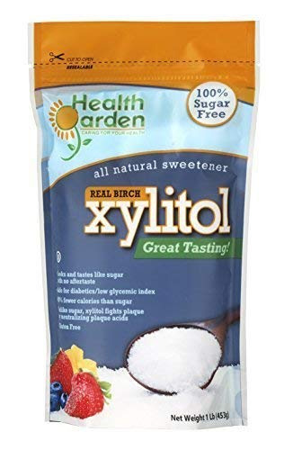 - Health Garden Xylitol Sweetener, 1 lb (Not from Corn)