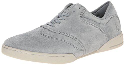 HUF Men's Dylan Skateboarding Shoe, Grey/Bone White, 13 M US