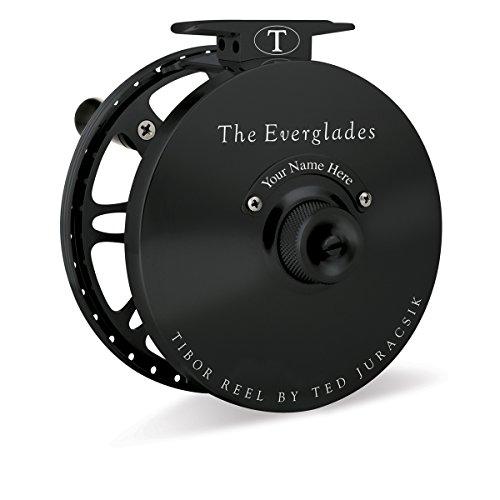 Tibor Everglades Fly Reel (Jet Black)